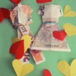 Papírová nevěsta aneb Origami z bankovek