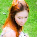 Letní fotoshooting -květinové čelenky