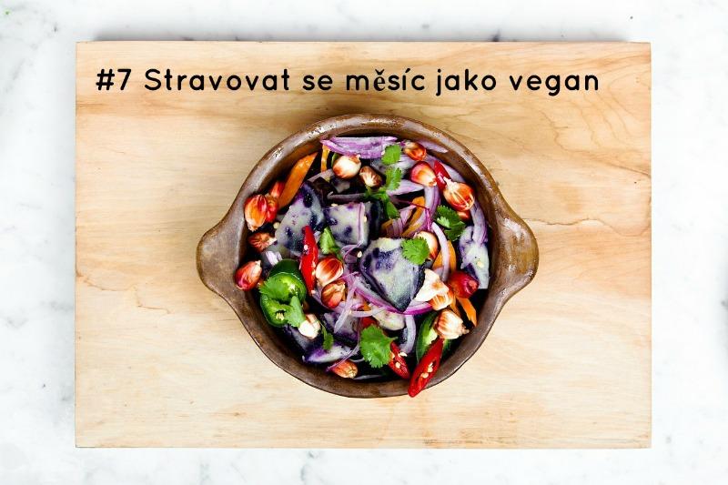 Veganská výzva! Moje stravovací dobrodružství
