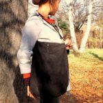 RESTYLE: Ze staré sukně nová kabelka