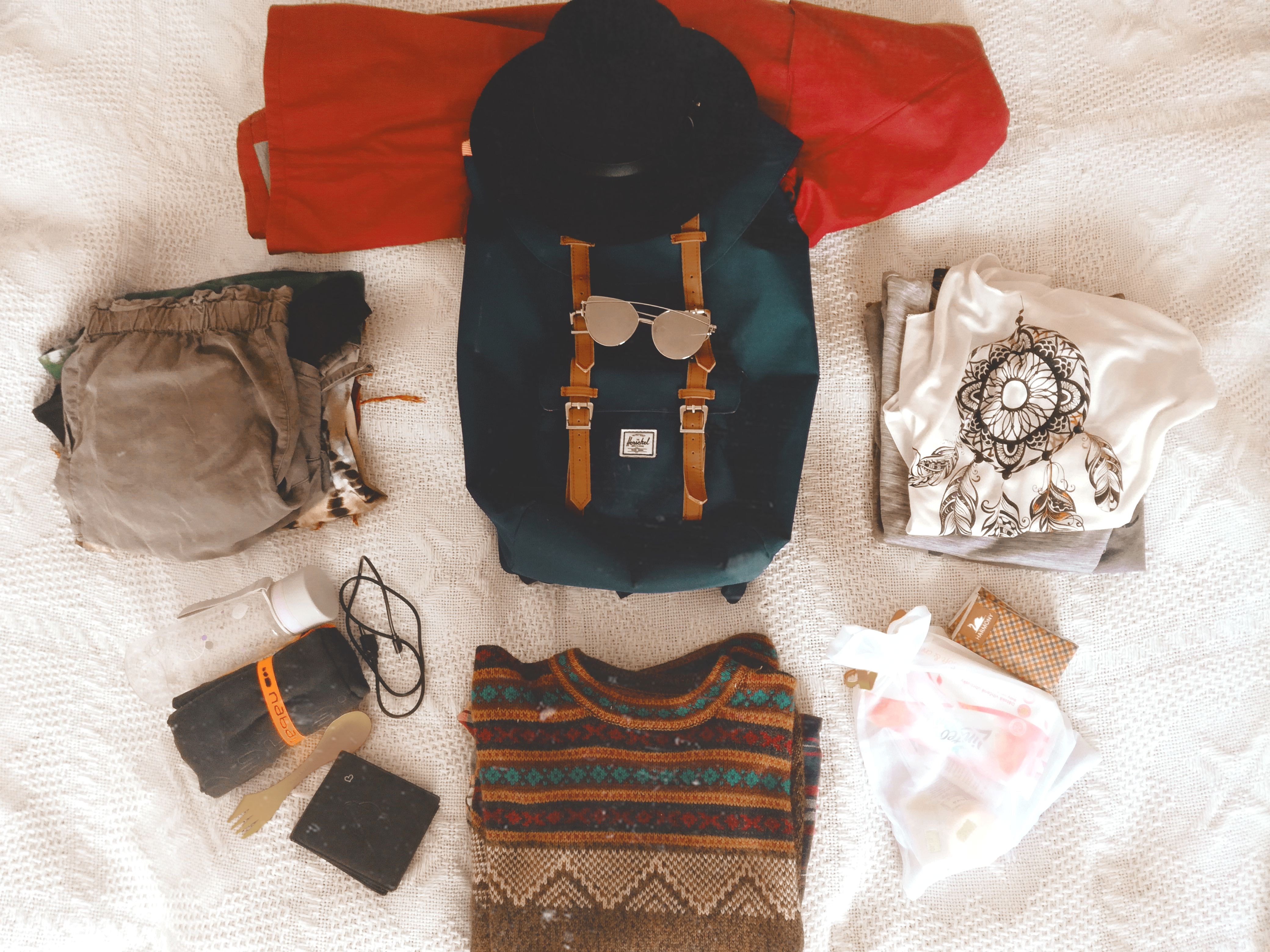 Jak se sbalit do příručního zavazadla