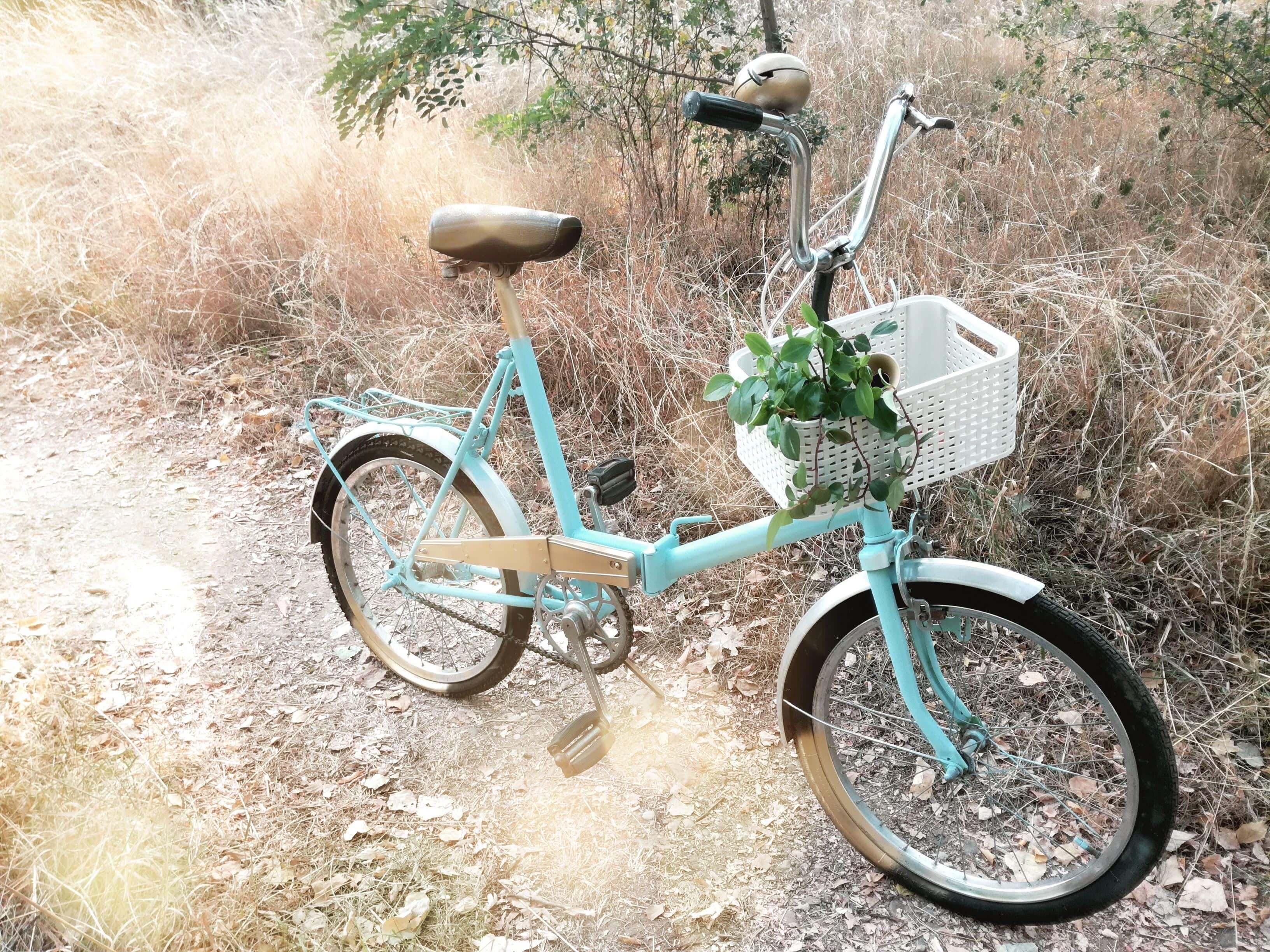 Upcycling kola: Ze starého nové retro kolo