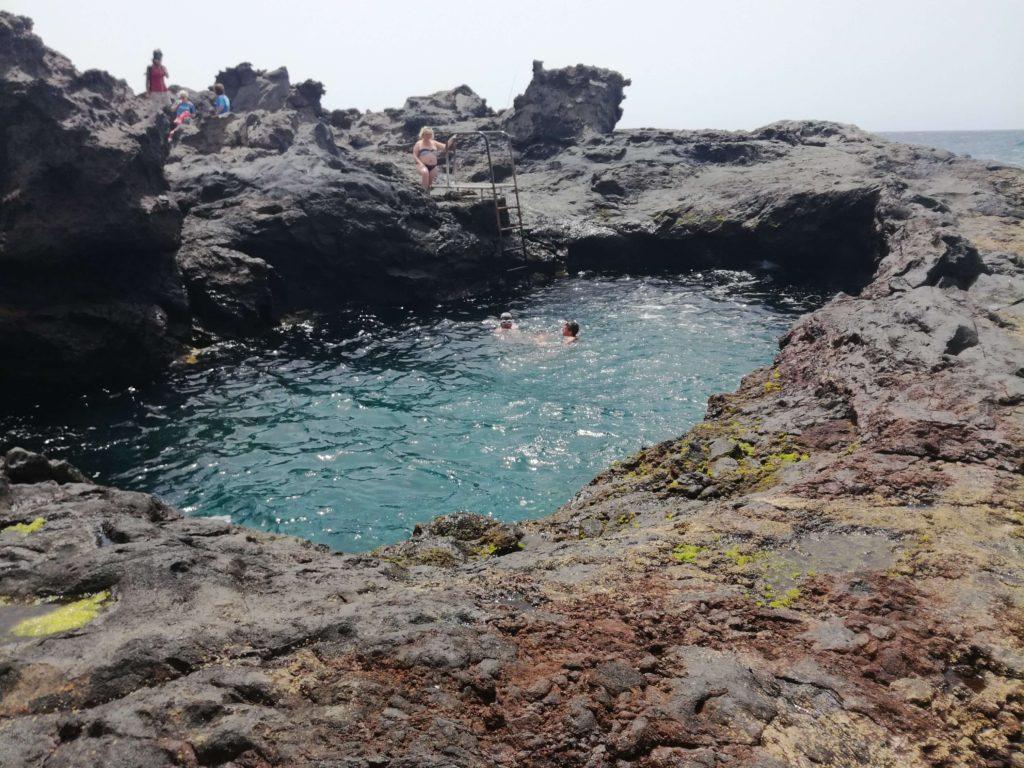 Priscíny, přírodní bazény