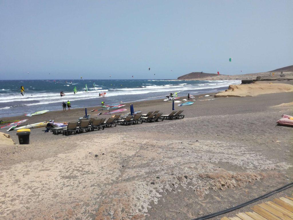 Serfařské pláže Tenerife