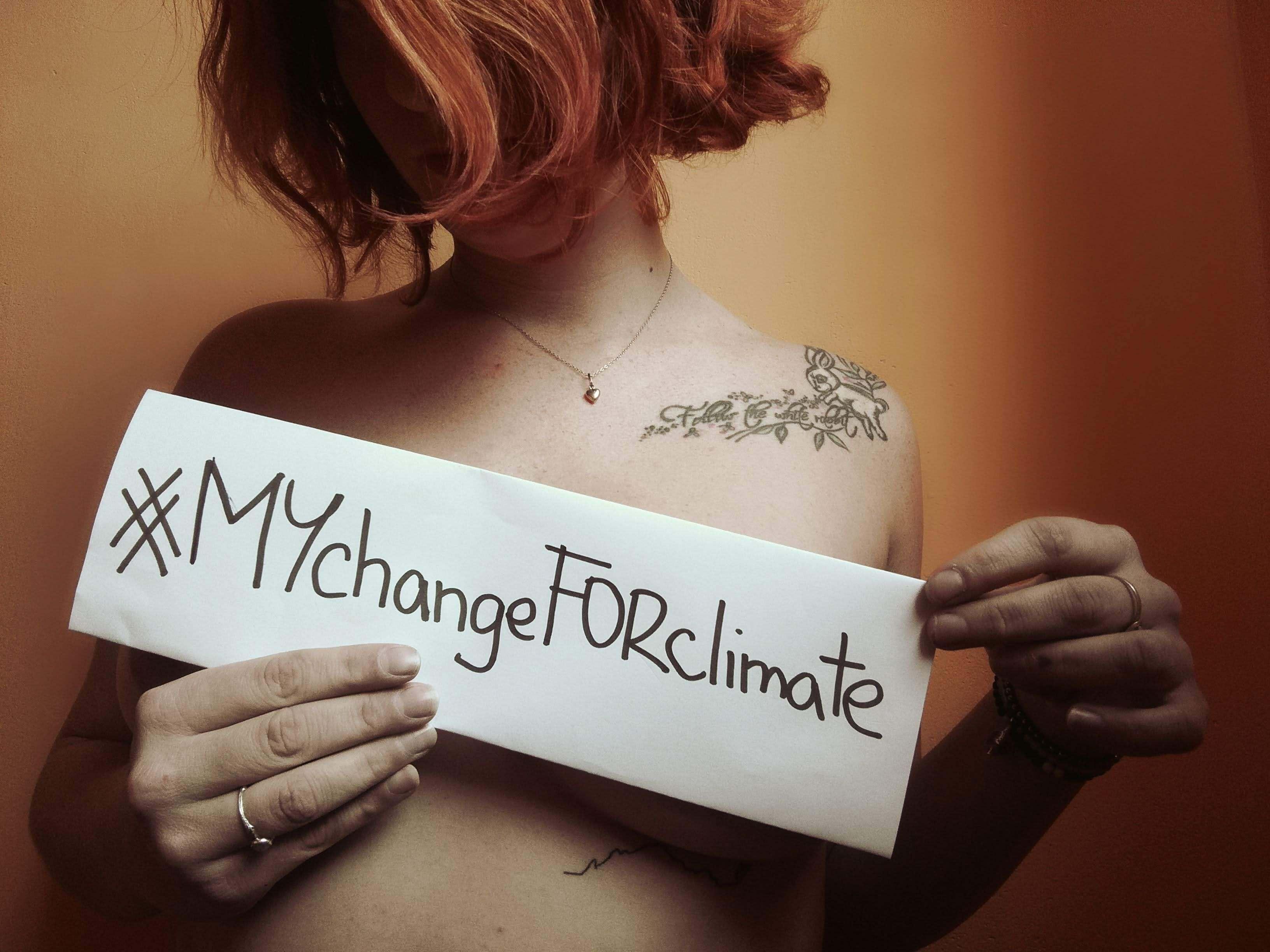 #MYchangeFORclimate