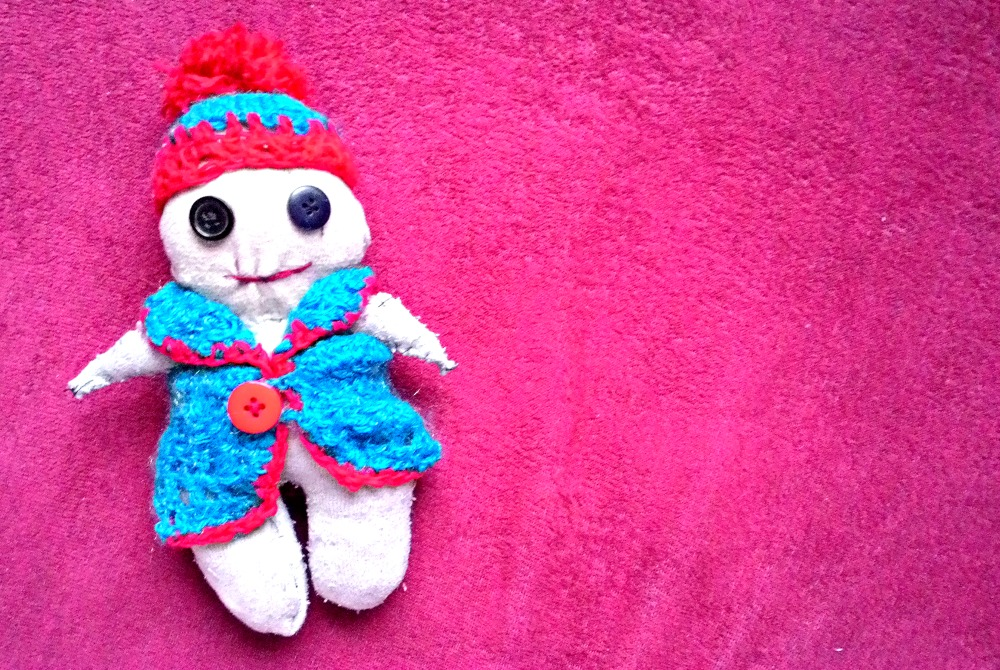 DIY: Ponožková panenka