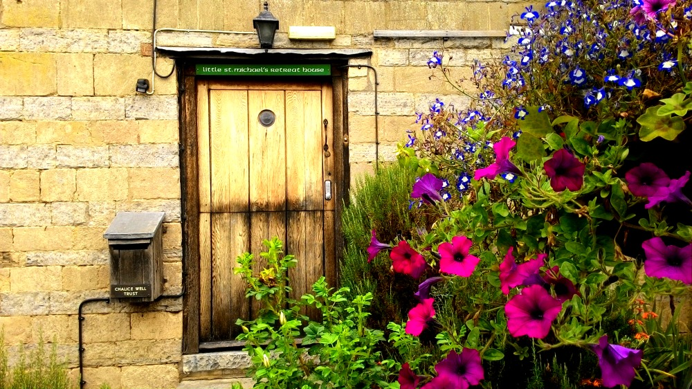 Starodávné dřevěné dveře