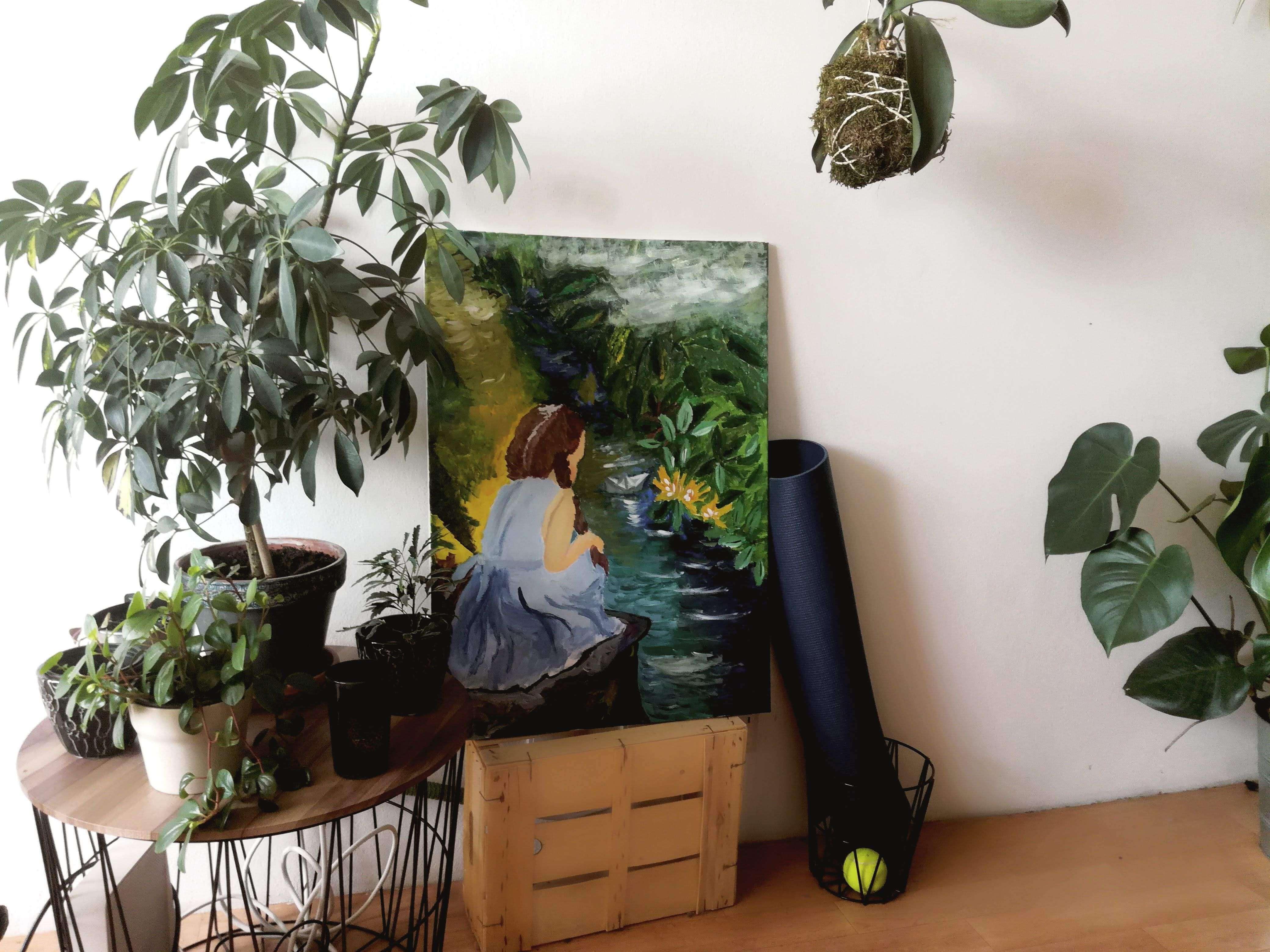 Oáza zeleně v našem trójském bytě