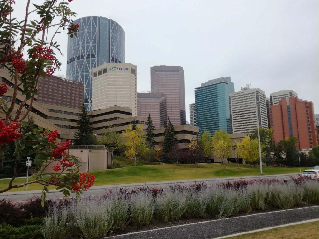 Podzim v Calgary