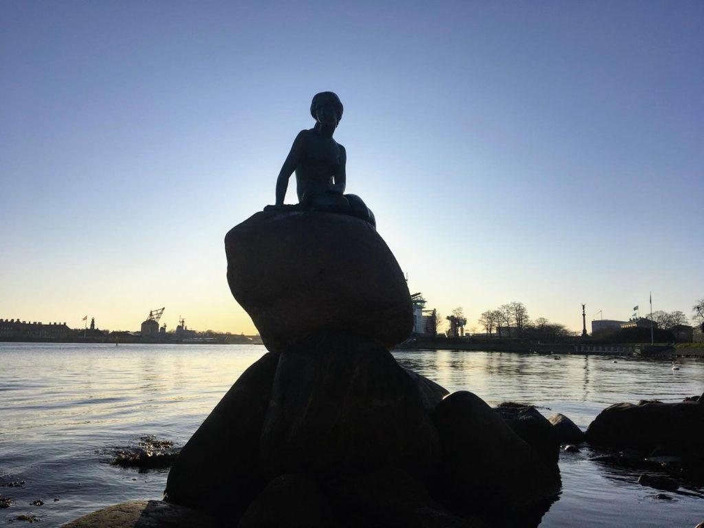 Malá mořská víla, Kodaň