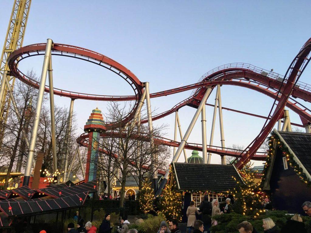 Horská dráha v Tivoli Gardens