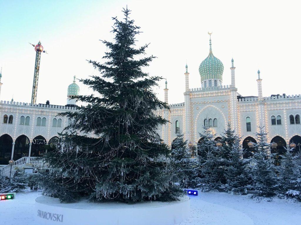 Vánoce v Tivoli Gardens, Kodaň
