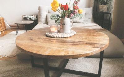 Renovace stolu – jak opravit prasklinu na dřevě?
